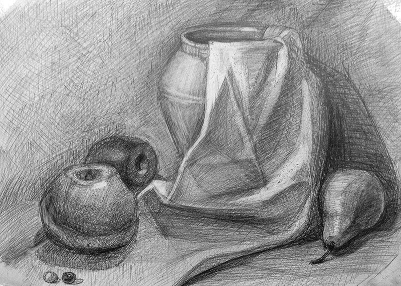 фото натюрморт простым карандашом владельцы уютных хрущевок