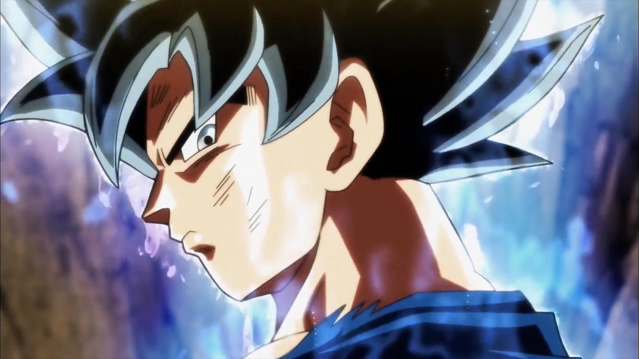 Goku Ultra Instinct Dbs Ep 110 Goku Ultra Instinct Anime Running Goku