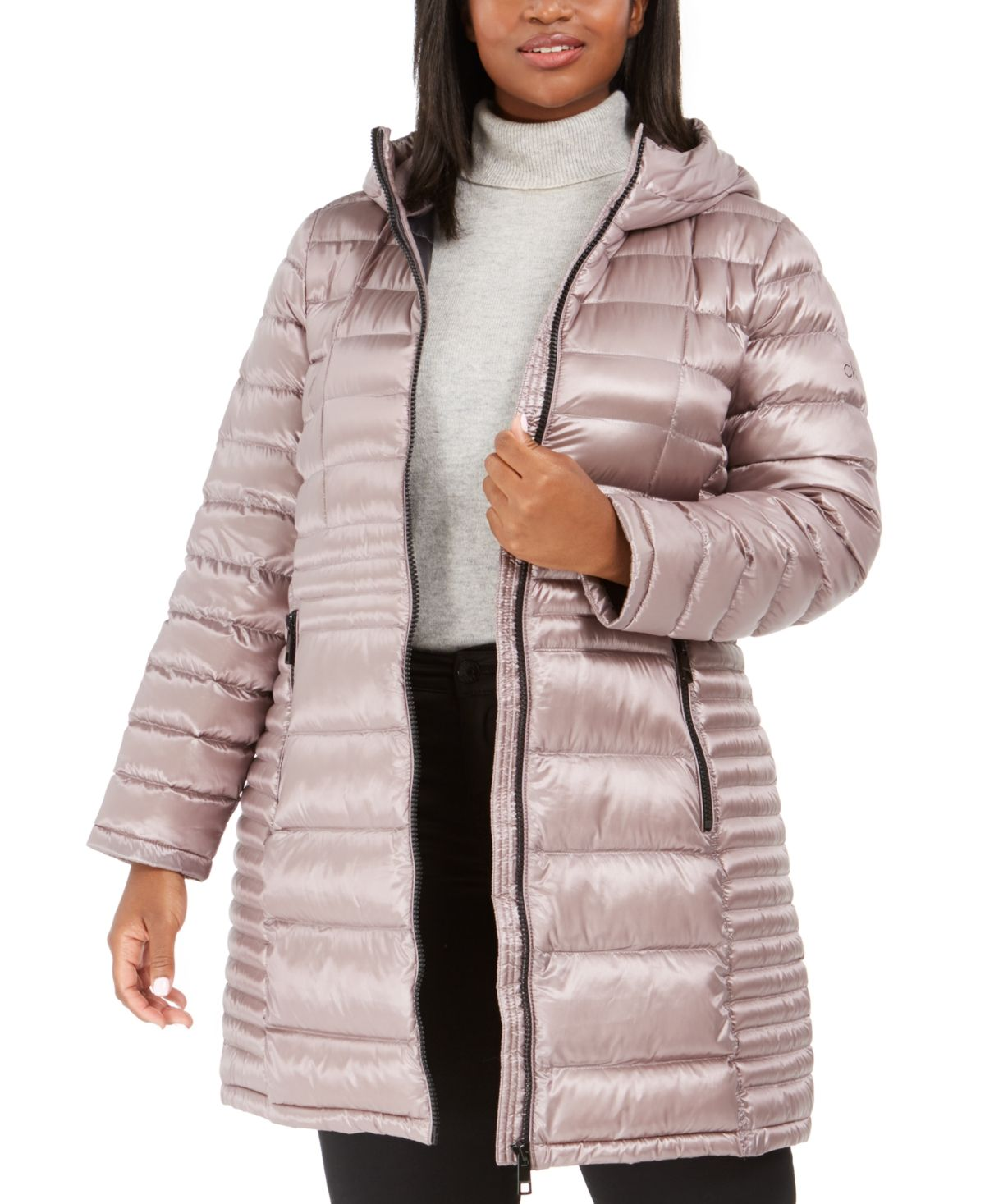 Calvin Klein Plus Size Hooded Packable Puffer Coat Created For Macy S Reviews Coats Plus Sizes Macy S Puffer Coat Calvin Klein Plus Size Girls Jacket [ 1467 x 1200 Pixel ]