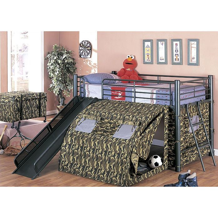 Kidsu0027 Beds. Bunk Bed With SlideBed ...
