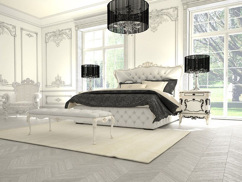 Room Interior of a classic style bedroom