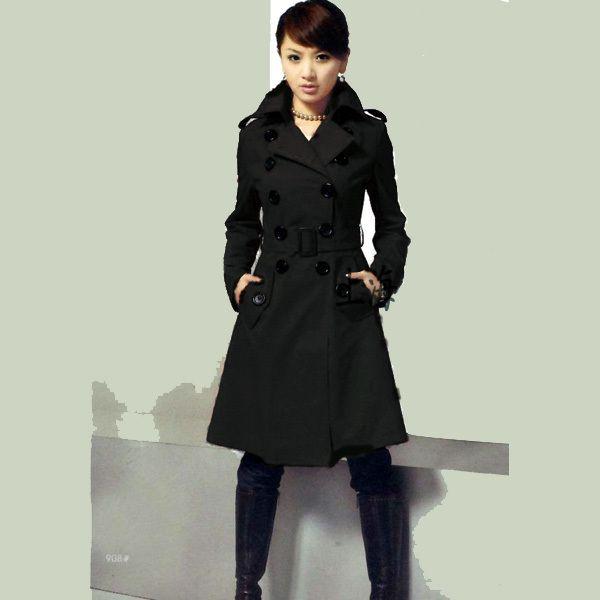 Black Womens Winter Coat
