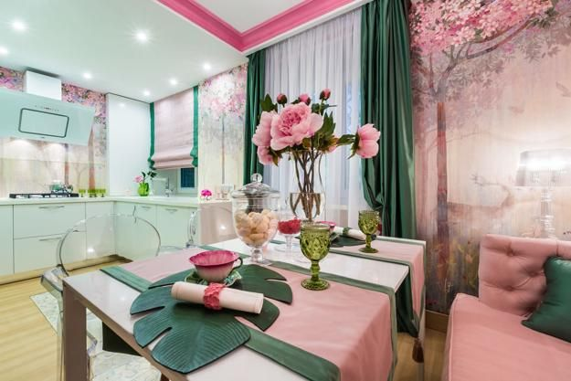 complementary and sophisticated pink green color schemes inspired by rh pinterest com