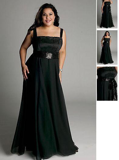 Kleider fur mollige schwarz