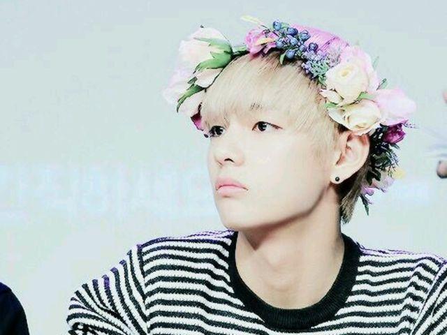 Which Kpop Male Idol Wears Flower Crown The Best Flower Crown Flower Boys Flowers