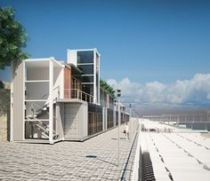 beach hostel from shipping containers andrey tkachyk shipping rh pinterest com