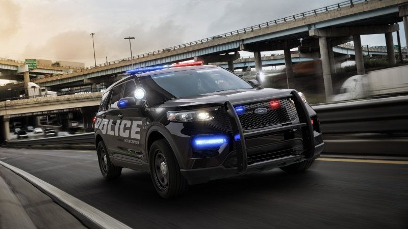 Ford Shows Off The 2020 Police Interceptor Utility Ford Police Police Cars Interceptor