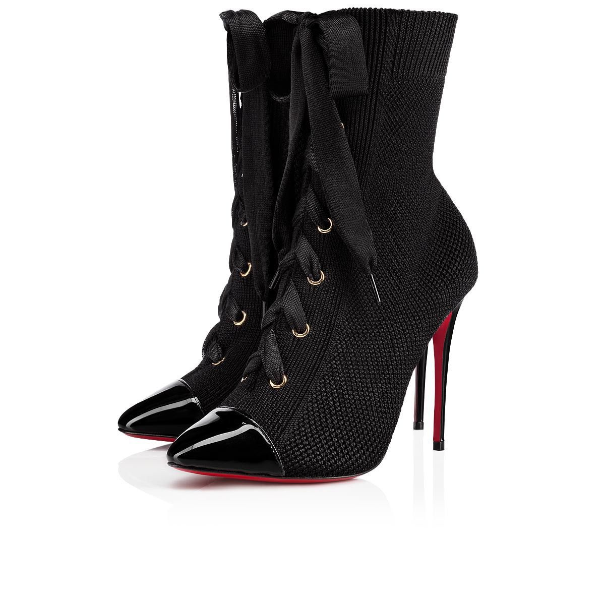 f9482ddf8d50 Christian Louboutin Hong Kong SAR China Official Online Boutique - Frenchie  100 BLACK Cotton available online. Discover more Women Shoes by Christian  ...