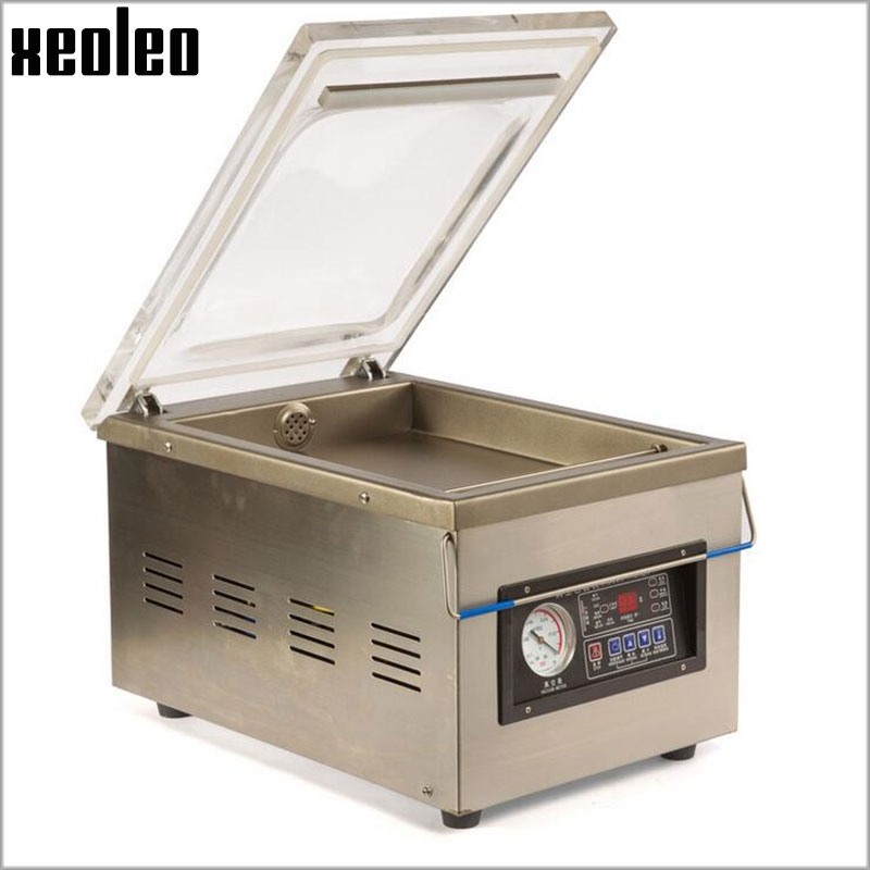 383d4218d73 ... Xeoleo Table Vacuum packing machine Commercial Vacuum food sealer  Vacuum sealing machine Food packaging for Nut Fruit Meat 220V 607.20