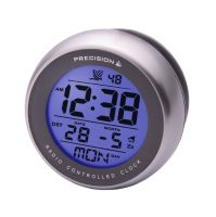 PREC0089 Water Resistant Suction Mounted Bathroom Clock ...