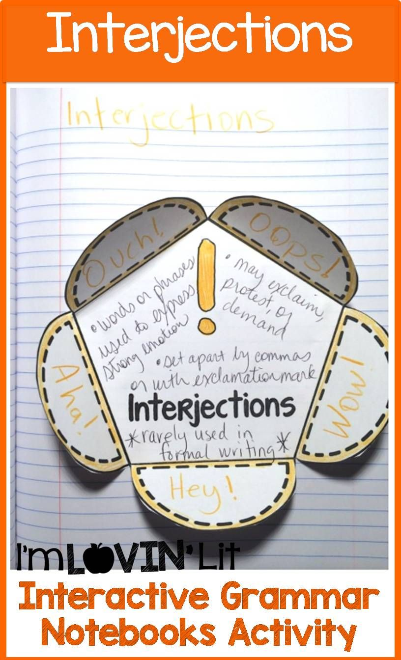14 ELA: Interjections ideas   interjections [ 1344 x 816 Pixel ]
