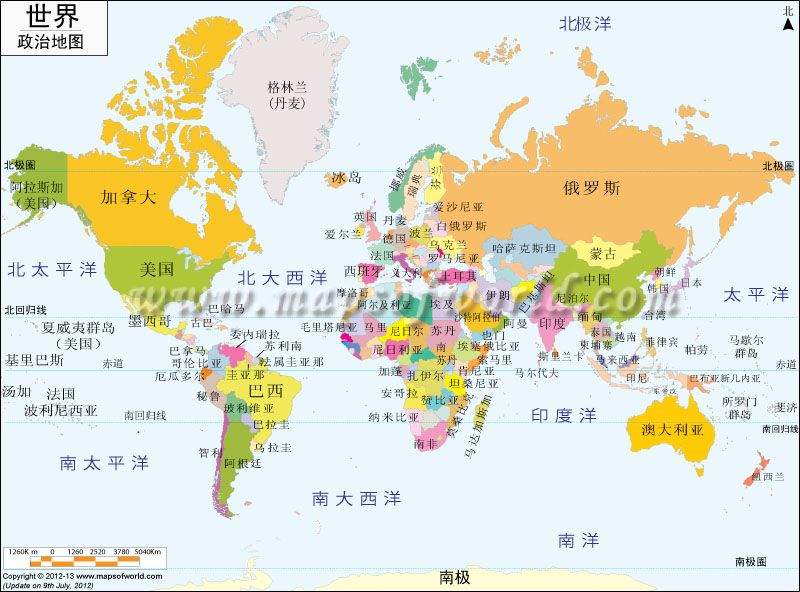 World Map In Chinese World Map Printable World Map With Countries World Political Map