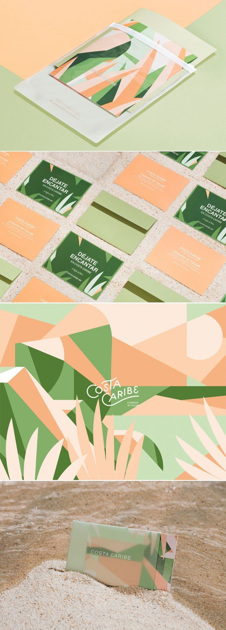 Let Costa Caribe's Graphic Branding Transport You To The Tropics | Dieline