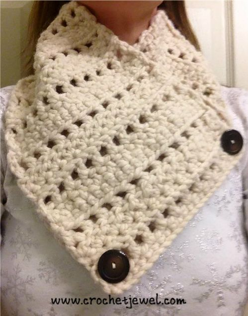 Crochet Neck Warmer | crochet - neck warmers | Pinterest | Hardanger ...