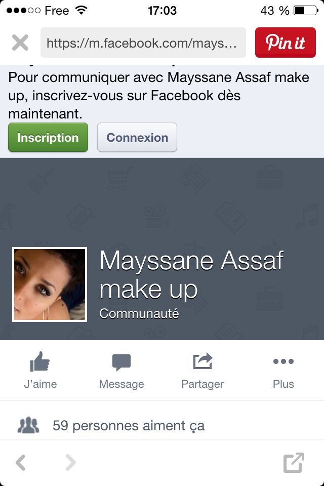 Ma maquilleuse: ASSAF Mayssane