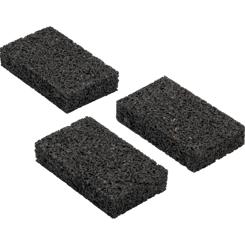 Dauerhaft Witterungsbestandig Konstruktiver Holzschutz Auflagepads Fur Unterkonstruktion Schwarz 9 Cm X 6 Cm X 0 3 Cm 60 S In 2020 Unterkonstruktion Holzschutz Obi