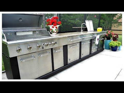 Char Broil Modular Outdoor Kitchen Medallion Modular Gas Grill Lowes Com Modular Outdoor Kitchens Outdoor Kitchen Gas Grill