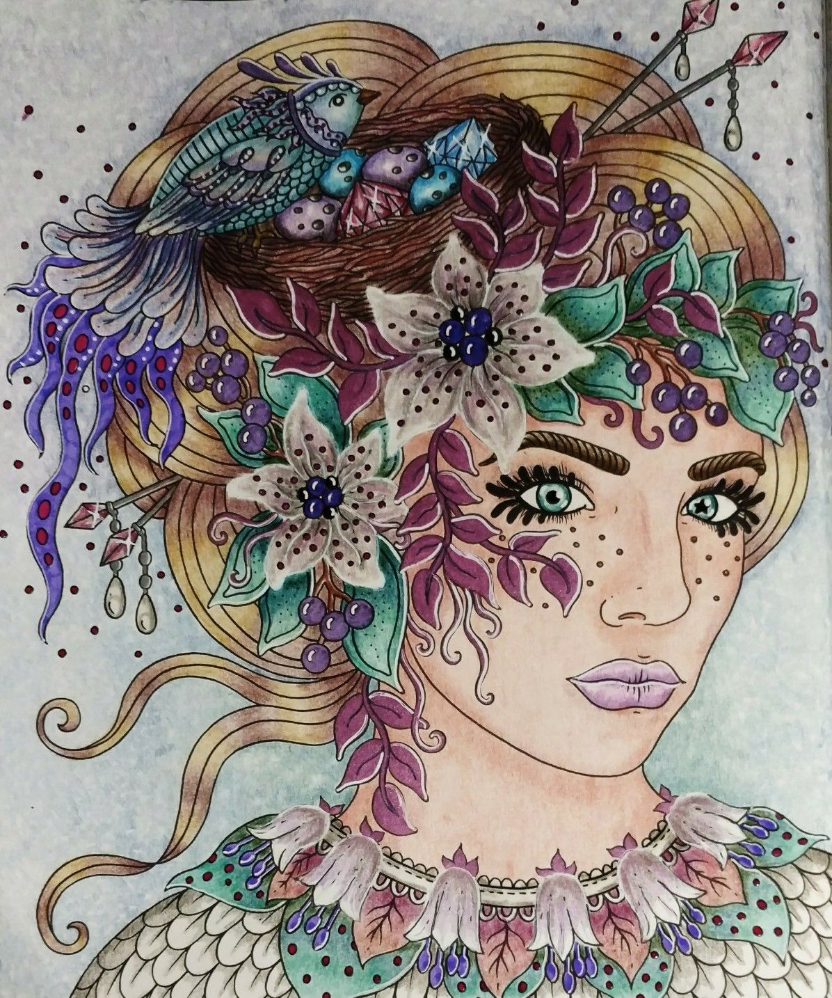 Seasons Coloring Book Tidevarv Hanna Karlzon By Wendy