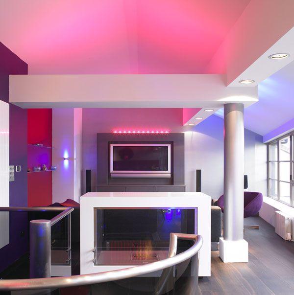bachelor pad penthouse London bridge by qmc design | home interior ...