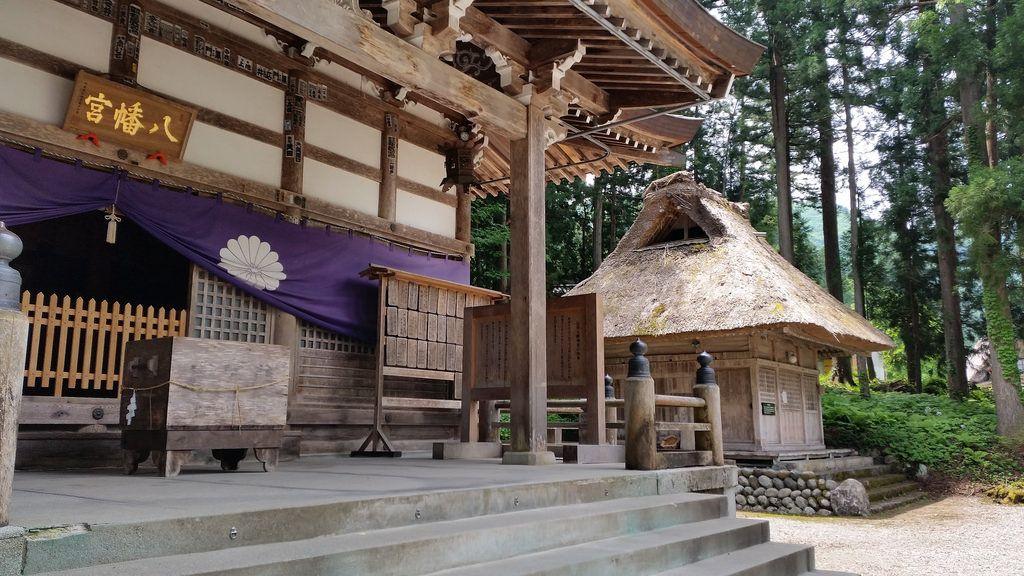 合掌造り民家 • gassho-zukuri houses  白川郷 荻町 • Shirakawago Ogimachi