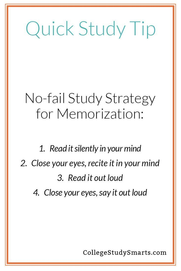 Photo of Quick Study Tips – No-fail Strategy for Memorization – College Study Smarts – Preppy heaven :)