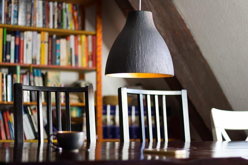 design betonlampe ganz einfach selber machen ohne staub und dreck deko for the home lampen. Black Bedroom Furniture Sets. Home Design Ideas