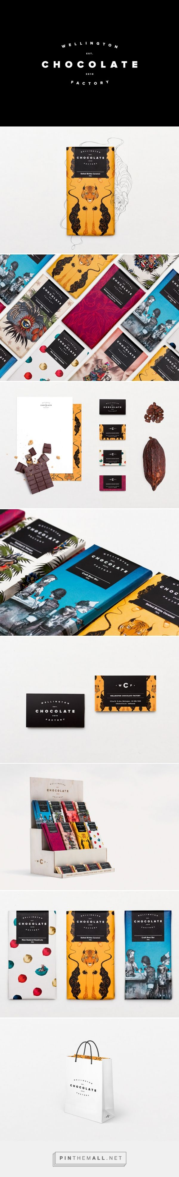 #Wellington #Chocolate Factory #packaging designed by Inject Design - http://www.packagingoftheworld.com/2015/09/wellington-chocolate-factory.html