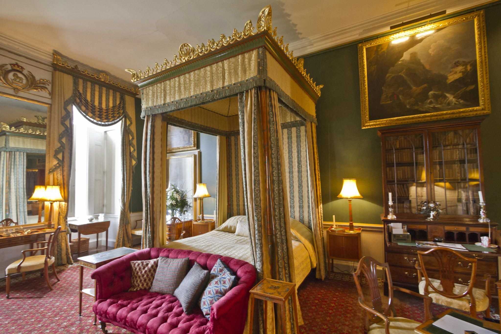 Castle Howard Bedroom with its suite of