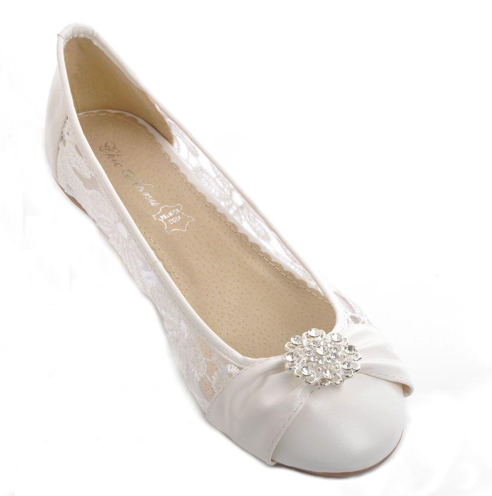 23+ White flat wedding shoes uk ideas