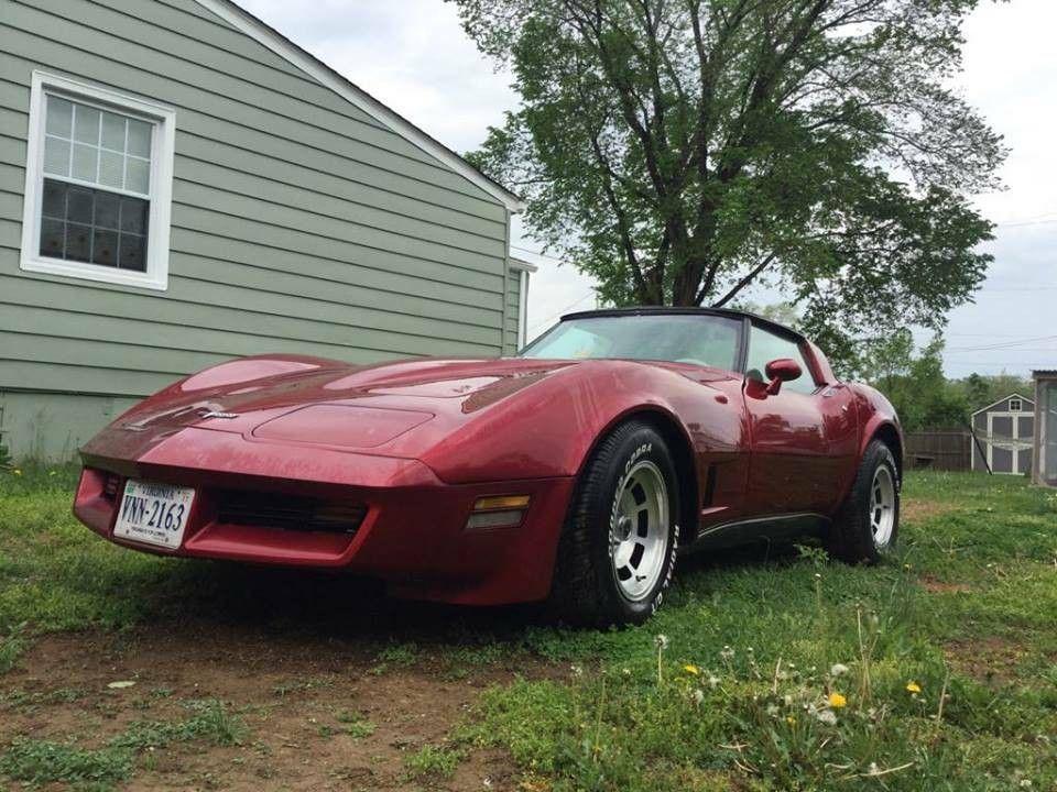 5,691 Miles? 1980 Corvette In Virginia Corvette, Barn
