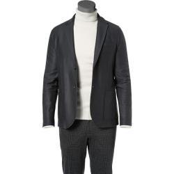 Photo of Harris Wharf London suit jacket men, merino wool, gray Harris Wharf London
