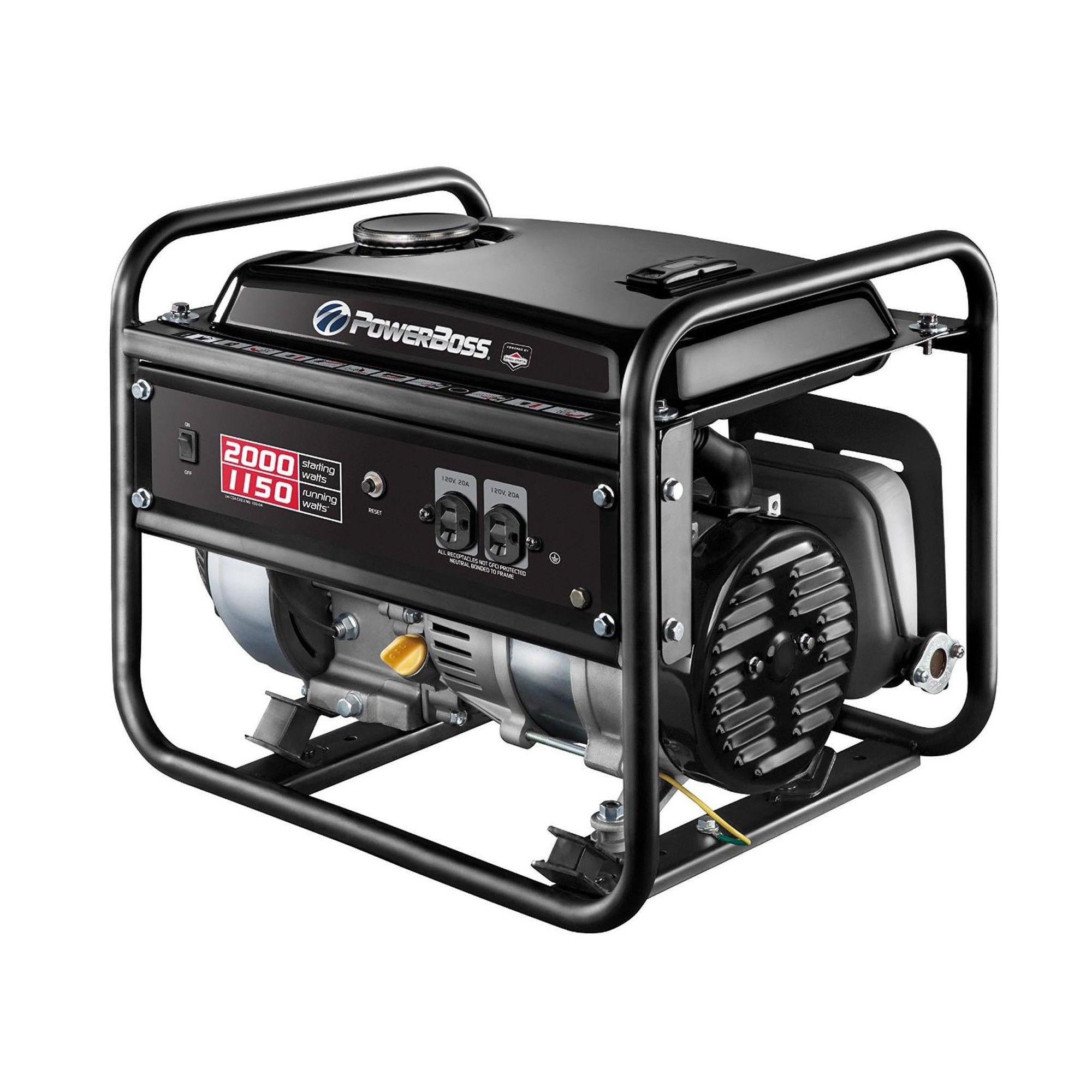 briggs stratton powerboss 30665 1150w portable gas powered rv home rh pinterest com