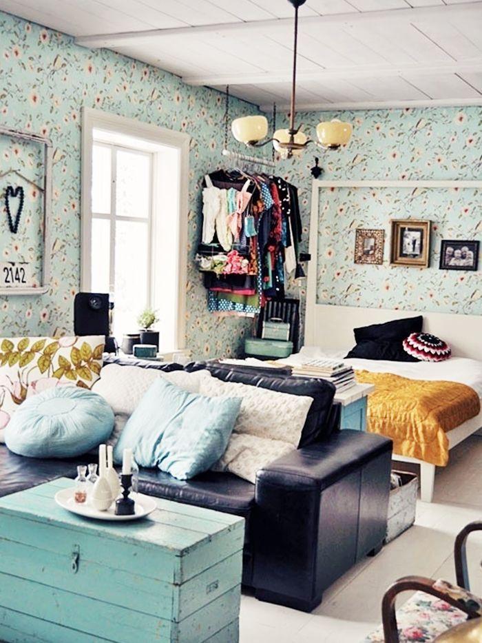 90 Small Apartment Studio Decorating Ideas on