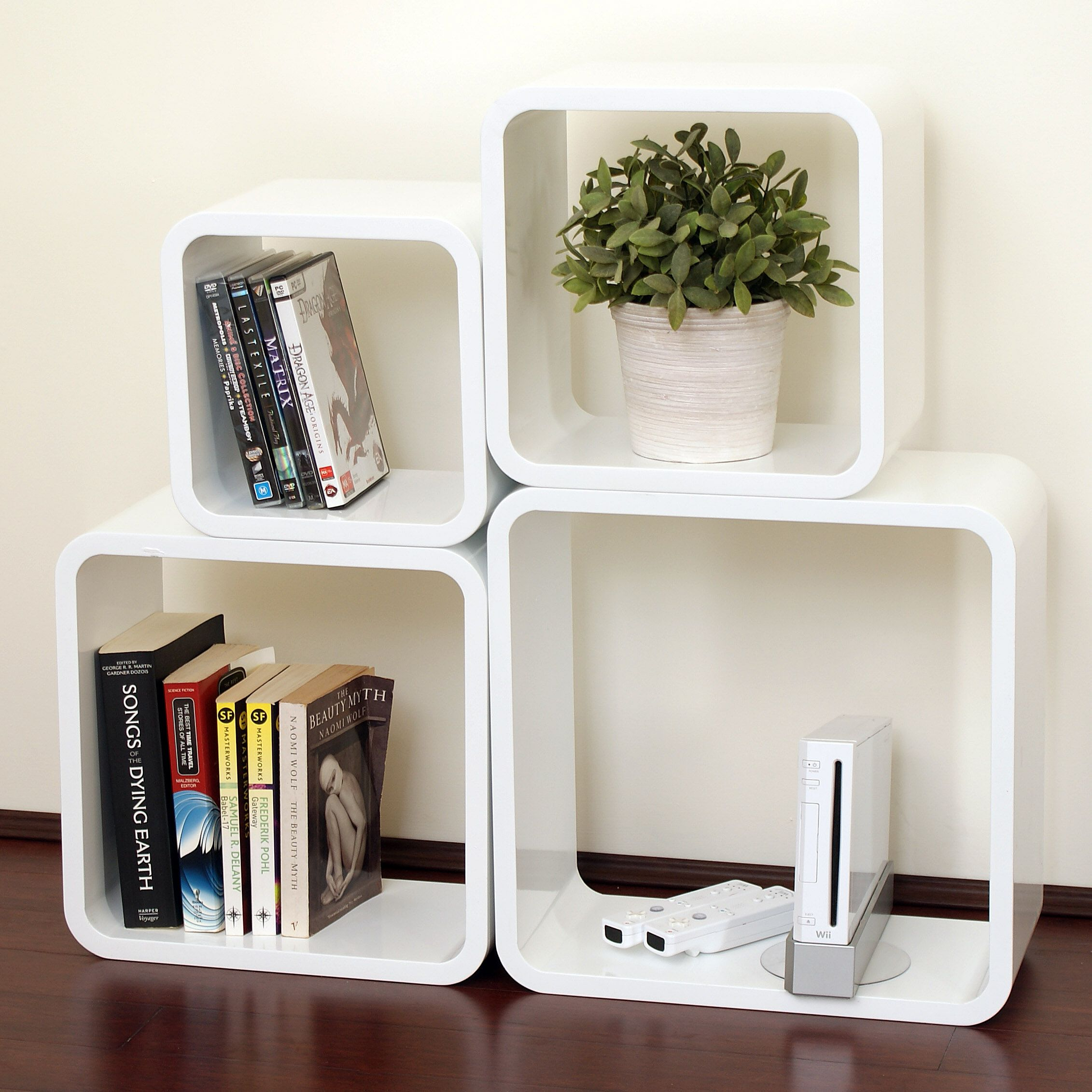 Astounding IKEA White Square Storage Unit With