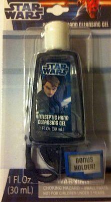 Star Wars Clone Wars Antiseptic Hand Cleansing Gel With Bonus