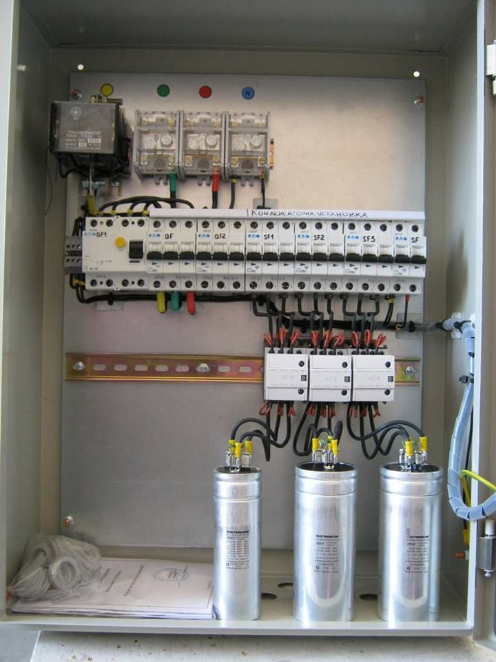 Wiring Diagram Capacitor Bank