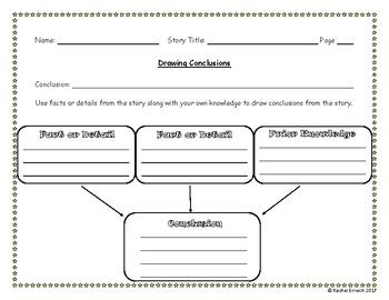 draw conclusions worksheet geersc. Black Bedroom Furniture Sets. Home Design Ideas