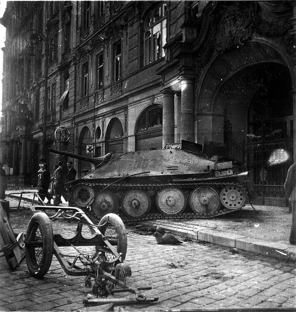 Hetzer Prague 1945 Hetzer Prague 1945