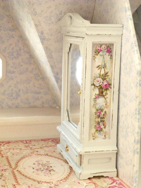 1/12 scale dollhouse cupboard,cabinet,furniture