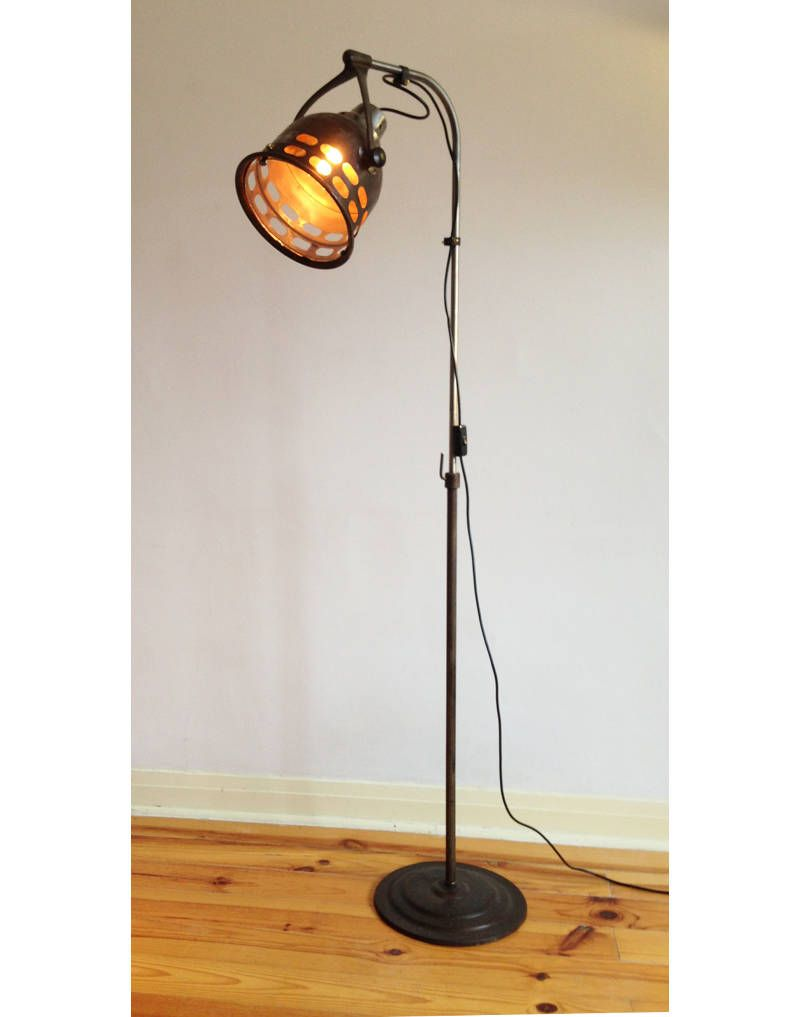 Vintage medical standing light by mir a kal ray made in u s a www gplightandmor