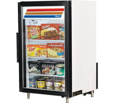 True Countertop Freezer Merchandiser Gdm 7f Countertop Freezer