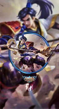 Wallpaper Phone Zilong Eastern Warrior by FachriFHR on DeviantArt