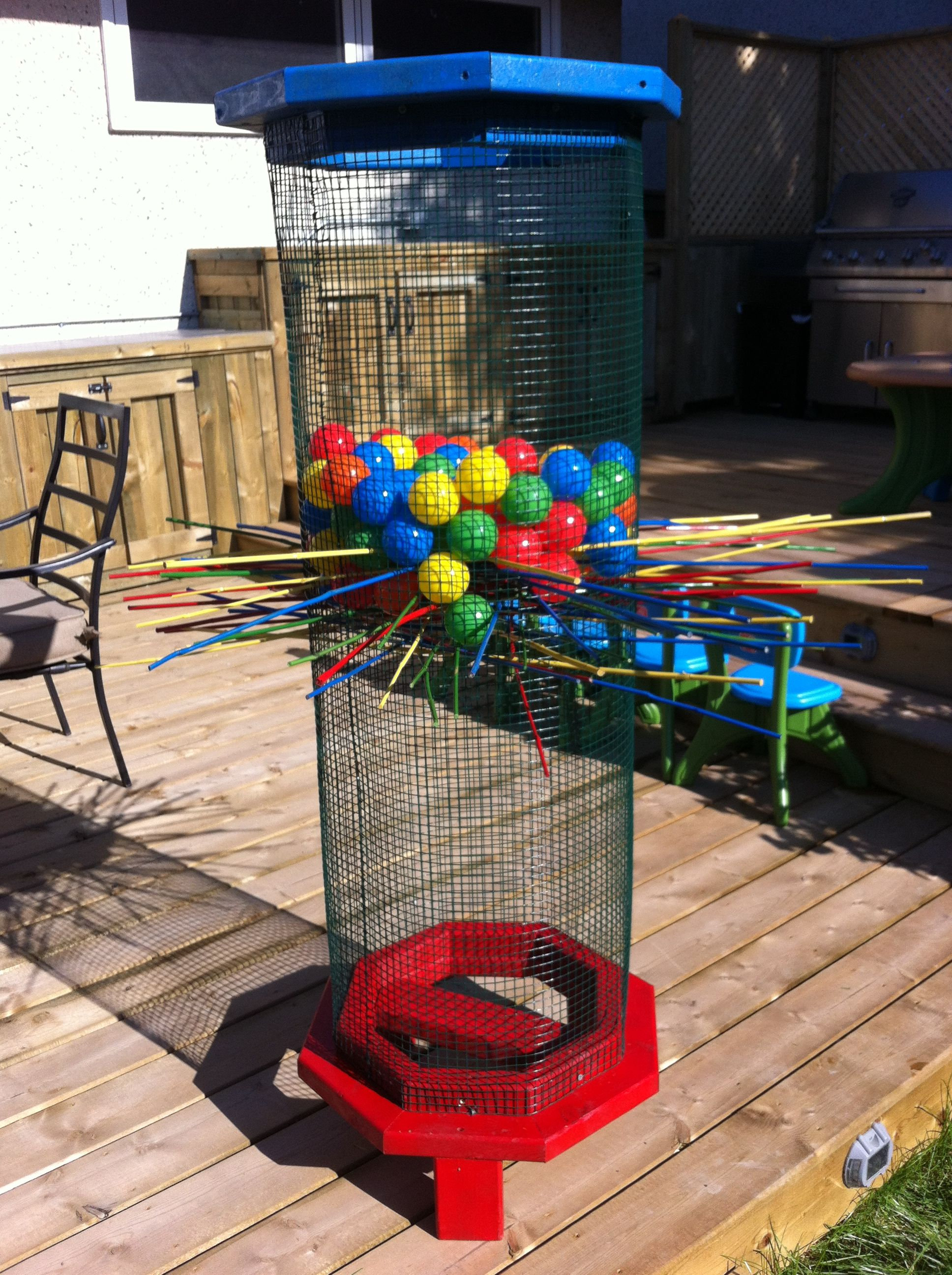 Life Sized - Kerplunk Was Super Easy To Make And Can Be -9239