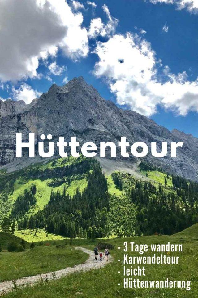 Hüttenwanderung Karwendel: Die KÖNIG LUDWIG
