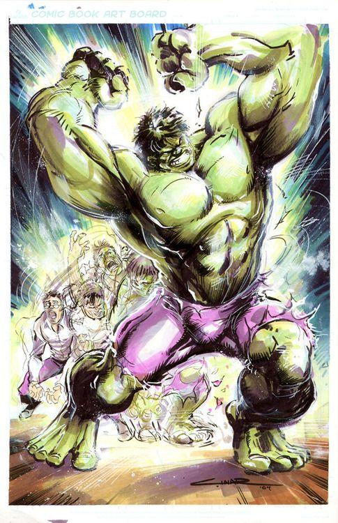 Hulk mode....