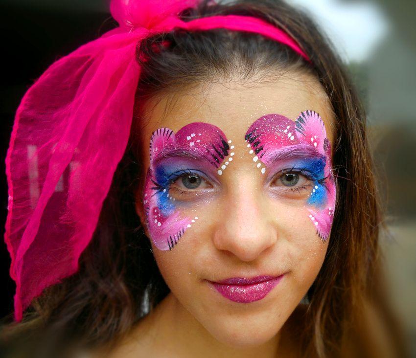 Maquillage enfant arbre de no l princesse violette maquillages enfants carnaval et autres - Modele maquillage princesse ...