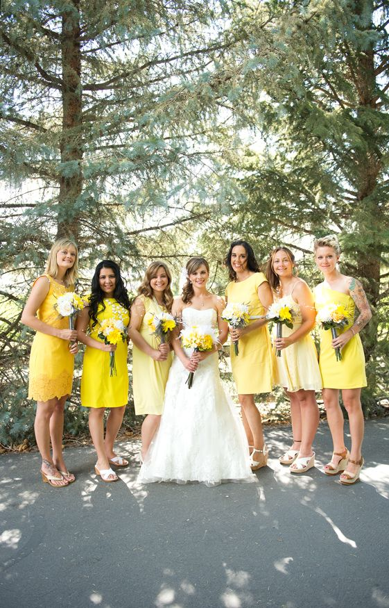 unusual wedding photos ideas%0A RaeTay Photography u   e u   egray and yellow wedding  creative wedding photography