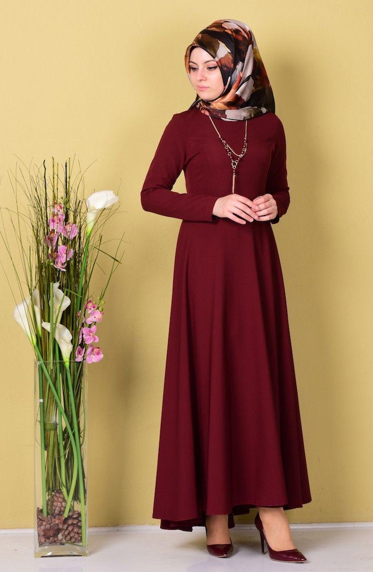0e2b9293c10b3 Sefamerve Asimetrik Kesim Tesettür Elbise Modelleri - Moda Tesettür Giyim