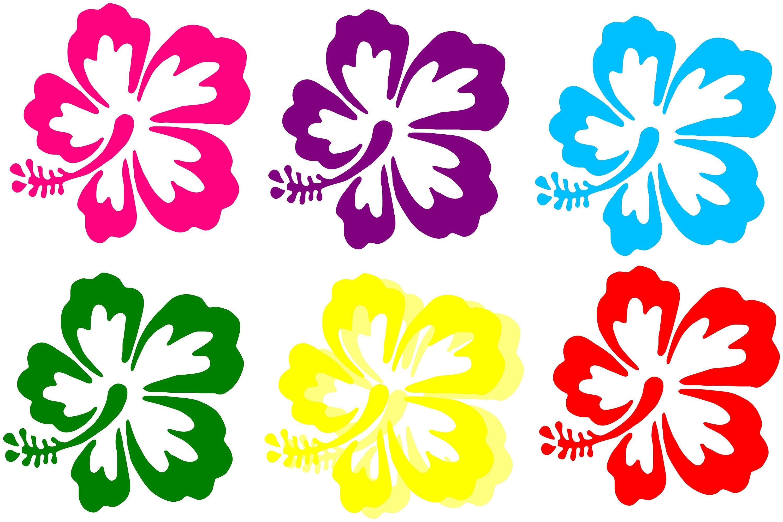 Tropical Flower Vinyl Decal Flower Decal Tropical Flower Etsy Tropical Flowers Vinyl Decals Hibiscus Flowers [ 2001 x 3000 Pixel ]