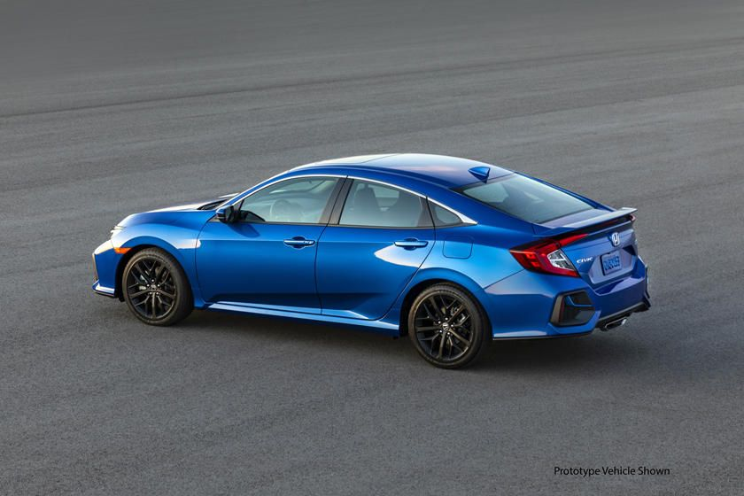 2020 Honda Civic Si Sedan Side View Photo nel 2020 Honda